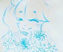 創作イラスト、アニメ、漫画のキャラ描きます。