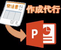 PowerPointの資料を作成いたします 資料作成が苦手な方におススメです!(*^_^*)