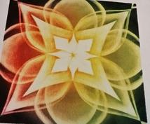 あなたのエネルギーをパステル曼荼羅で表現♥あなたを見守る存在からのメッセージもお伝えします