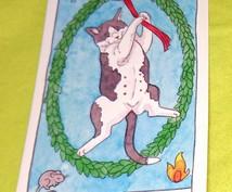 猫好きさん必見★猫タロットで1問1答します 可愛い猫タロットならではの鑑定をお試しして欲しいから低価格☆