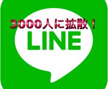 LINE友達3341人に宣伝します 安く多くの方に宣伝したい方へ!