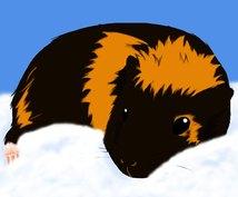 ☆ペットや動物の写真を元にイラストを描きます☆