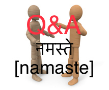 あなたもネパール語を話せます ネパール語レッスンのアフターフォロー - Q&Aルーム