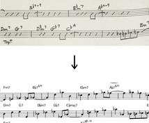 ジャズのベースラインを作成します ウォーキング・ベースラインでお悩みのベーシストへ