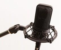 音声データの編集、エフェクト加工等を承ります。