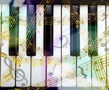 ヒーリング系ピアノ曲を制作します