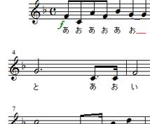 ハモりたい方へ。校歌、自作曲、十八番等、ソロをデュオに、デュオをトリオにアレンジします。