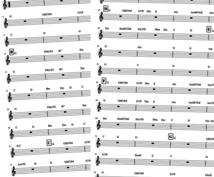 楽曲のコード進行を採譜します ギター弾き語りをしたい/キー変更もお任せください!
