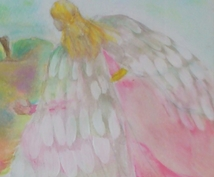 背中に見えない天使の羽をつけます 明るい元気な気持ちになりたい方へ