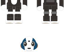 模写サービス。Illustratorで作成します オリジナルデザイン画、ロゴなどを綺麗にトレースします!