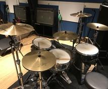 ライブでドラム演奏のサポートします ライブ・その他イベントにてドラマーが必要な方へ