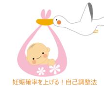 不妊/子宝/妊活!妊娠確率up自己調整法教えます 女性編/男性編有!不妊治療や鍼灸,他妊活法と併用もOK
