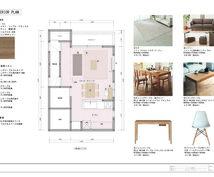 建築デザイナーがインテリアをご提案します ご要望をお聞きし、具体的な家具を正確な平面図と画像でご提案
