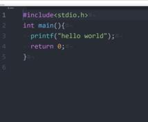 簡単なc言語のプログラム作ります 大学レベルの課題ならできます。