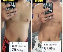 【減量】どうしても痩せれなかった人のため、格闘家流ダイエット法伝授します!