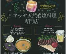 【チョークアート】店前A型看板制作[通常¥5,0000→¥500!]