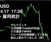 FX経済指標用ロジック格安提供致します エントリー時間がわかり、数秒〜5分程度で決済する方におすすめ