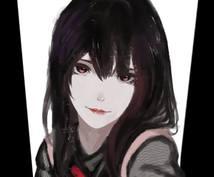 アイコン[萌え系][版権][美少女系]お描きします SNSのアイコン制作いたします!