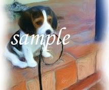 あなたのお気に入りの写真(ペット、写真、風景がなど)をもとに絵を描きます!