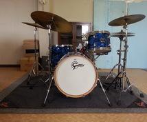 ドラム叩きます 弾いてみた動画の伴奏、曲のドラムアレンジなど