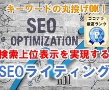 SEOのプロが監修!検索に強いライティングします 画像挿入や投稿代理も可。検索エンジン対策を完全外注したい方へ