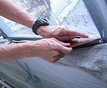 ガラスフィルム施工します (京滋地区限定。まさかの時の窓辺の防災・安全対策に最適。)