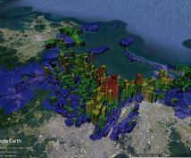 住所録を一括で地図上に見える化します 位置関係の把握や傾向分析・プレゼン資料にオススメ! その②