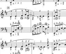 楽譜に指番号を書きます ピアノを弾きたいけど指番号がわからない!そんな方へ。