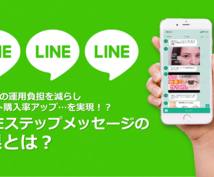 LINEステップメッセージの設置を代行します ★成約率激高の「ステップLINE設置」をあなたの代わりに…