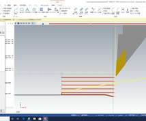 NC旋盤加工用キリコ分断切削プログラムを作成します 最新版mastercam2020で様々な加工形状に対応