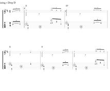 ソロギターの楽譜、楽譜作成ソフトで綺麗に浄書します 出版社が出す楽譜と同クオリティを求めるあなたへ