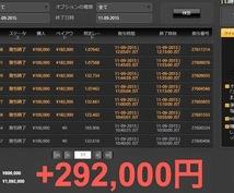 【話題の】☆利用者の月平均利益20万達成☆バイナリーオプション【数名限定】