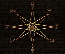 北欧の神々が宿る25の古代文字、ルーンで占います ★9th Gate~あなたの運命の9つの扉~