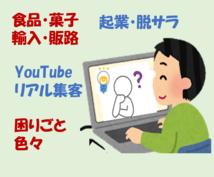 ビデオチャットで起業・輸入・動画等の相談に乗ります お急ぎの案件やメールでは伝えにくい事に対応いたします!