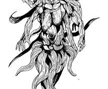 クトゥルフクリーチャー描きます クリーチャーやクトゥルフ神話求めてる方へオススメです