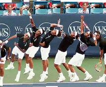 テニス(硬式)の「サーブ」が得意になります 初中級者でフォルトを減らしたい方、サーブで有利に攻めたい方に