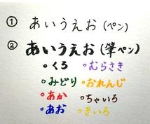 手書き文字、簡単イラストかきます 大切な人に気持ちを伝えたい方へ