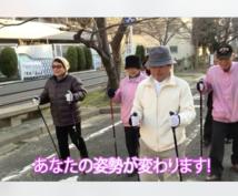 健康寿命ウォーキングの方法をお教えします 高齢者の姿勢改善と介護予防に。結果が見える歩行方法です。