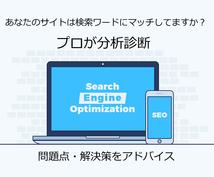 あなたのサイトをプロが分析診断します 検索されているキーワードにマッチしていますか?