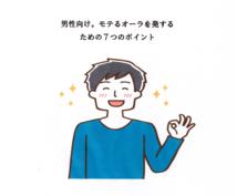 男性専用モテるオーラを発する7つのポイント教えます とにかくモテたい!たった500円で出来る必勝法則。