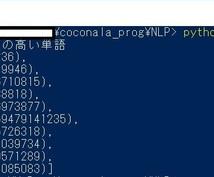 Pythonでの自然言語処理の方法を教えます 自然言語処理をしてみたい初心者の方、ぜひご相談下さい!
