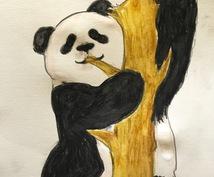 わんこ、にゃんこなど動物のイラストPOPに描きます POPに手描きで似顔絵描きます