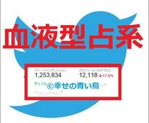 【★属性指定▶血液型占系★】TwitterアカウントでCM情報拡散宣伝PR