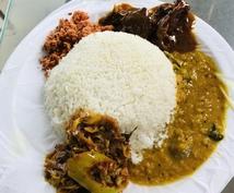 家庭料理【スリランカ料理】のレシピ共有します 実際にホームステイ先で学んだレシピ(8品)をPDFファイル!