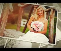 【高品質】結婚式、ウェディングの素敵なフォトスライドショーを制作致します!