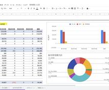Excel/スプレッドシートの作業を代行します エクセルの使いやすさ、見やすさに自信があります!