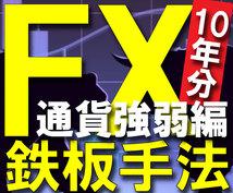 FX鉄板トレード手法 通貨強弱編を公開します 10年分のFXノウハウを、なんと3ステップで学べるシリーズ