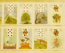 【2015年はどんな年?】ルノルマン・カードで上半期を占います