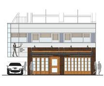 店舗設計が専門で特にサイン/ビジュアルデザインを得意とします。飲食・AMSなど。