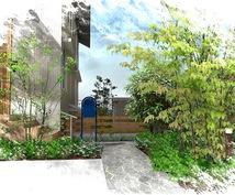 住宅のエクステリア・外構のイメージパース作ります お家の外構・お庭のイメージがつかめないという方におすすめ!